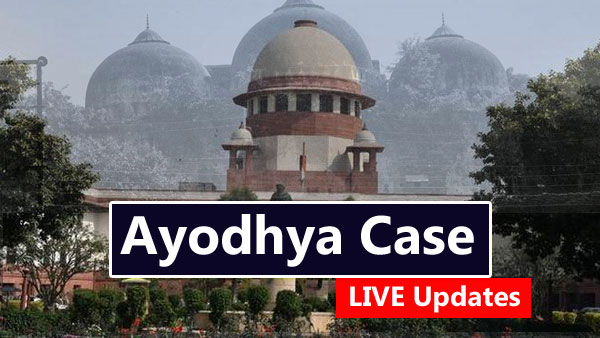 The Supreme Court saw sharp exchanges between the lawyers representing Hindu and Muslim parties during the pro