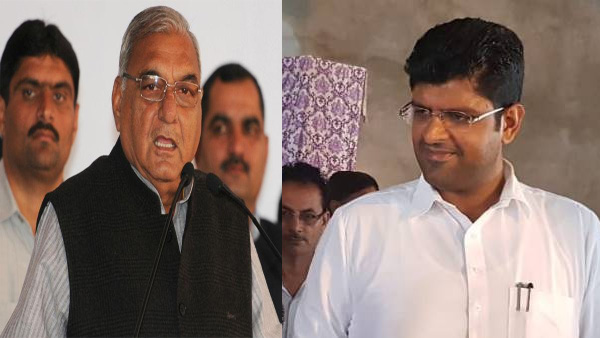Haryana: Will Dushyant support Hooda, the man who jailed his grandfather