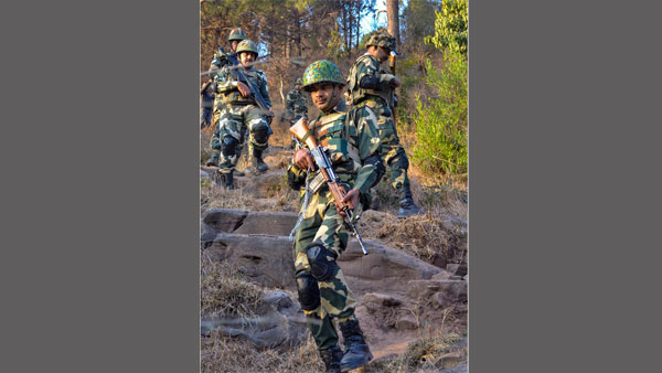 BSF on guard