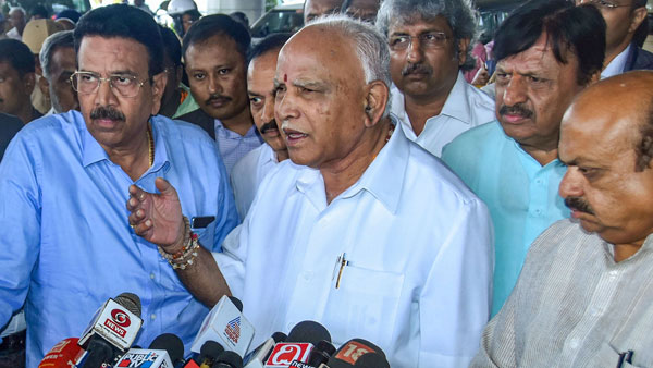 [Will complete full term, says Karnataka CM Yediyurappa]