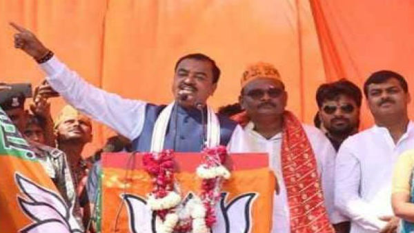 Voting in favour of lotus will mean dropping of nuclear bomb on Pak, says UP Dy CM Maurya
