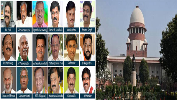 Disqualified Karnataka MLAs move SC seeking further deferment of by-polls