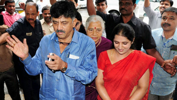 ED issues fresh summonses to D K Shivakumar, mother and wife
