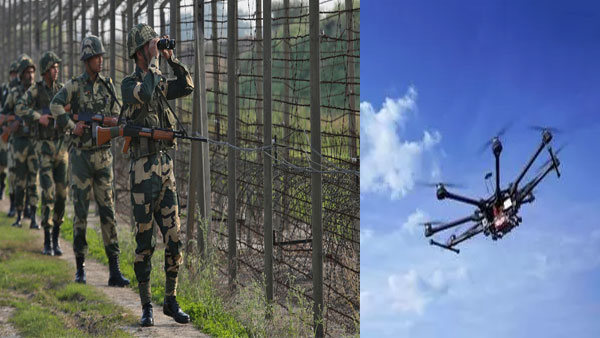After conducting 8 sorties weeks ago, another drone from Pakistan spotted in Punjab