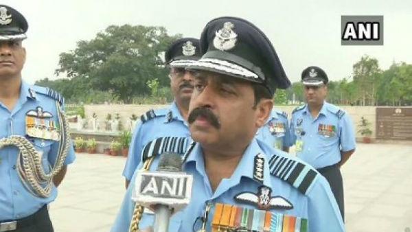 Air Chief Marshal RKS Bhadauria says shooting down IAF chopper in Kashmir was a 'big mistake on our