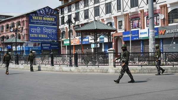 4 leaders in J&K released after they assure of good behaviour