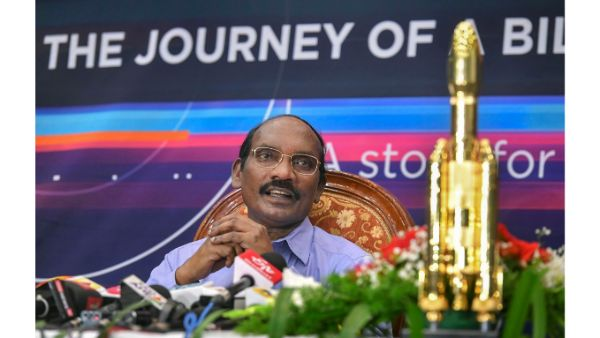 ISRO chief K Sivan