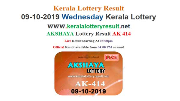 Kerala Lottery Today Result: Akshaya AK-414 Lottery Results LIVE, now