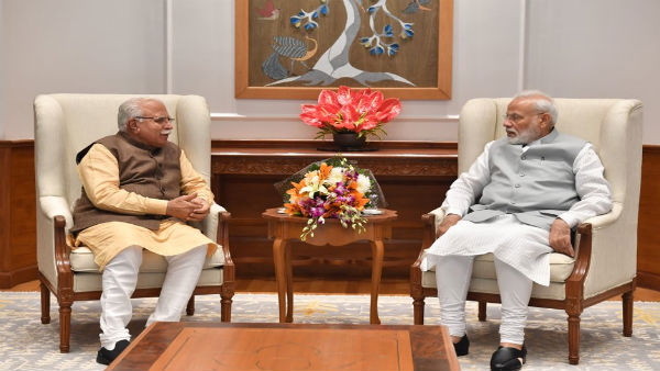Days after taking oath as Haryana CM, Khattar calls on PM