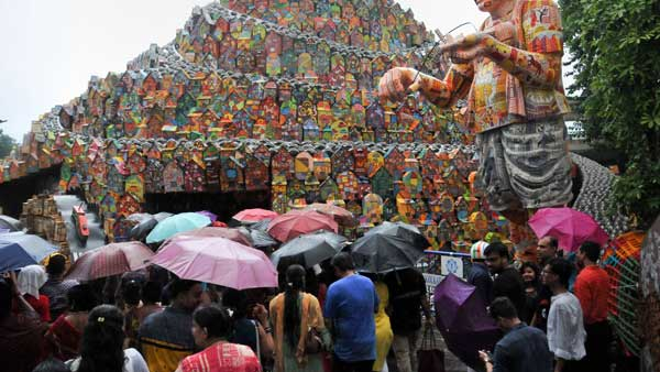 Rains likely to play spoilsport during Durga Puja festival