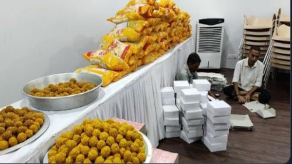 Confident of win, BJP orders 5,000 laddoos