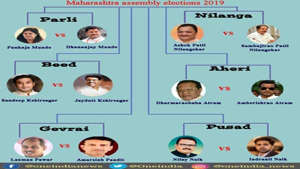 Maharashtra elections: United by blood, divided by politics!