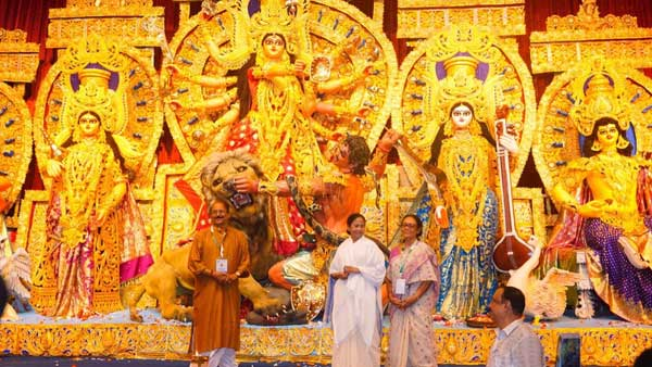 In pics: Kolkata Durga puja pandals and idols
