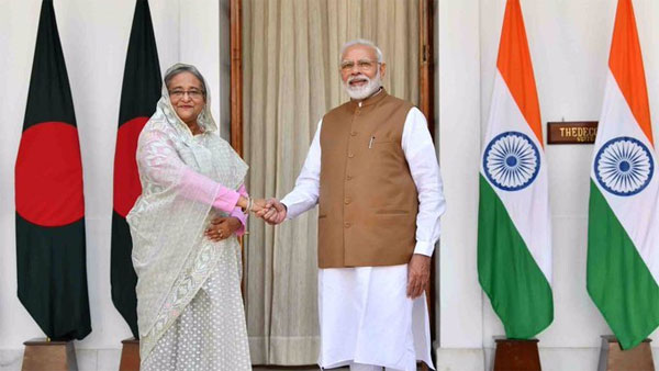 PM Modi meets Sheikh Hasina; discusses defence, trade, connectivity