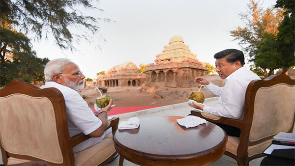 Watch: Modi-Xi meeting at picturesque Kovalam