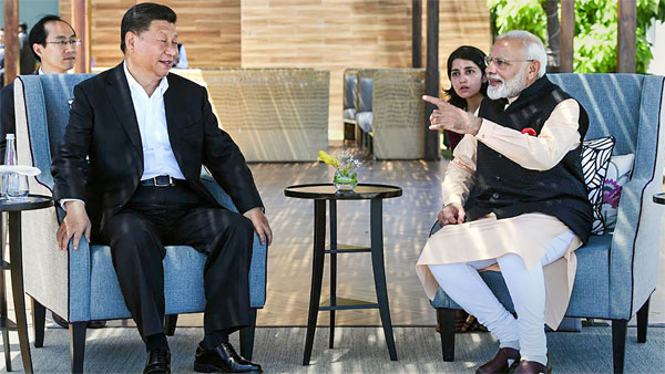 PM Modi and Chinese President Xi Jinping