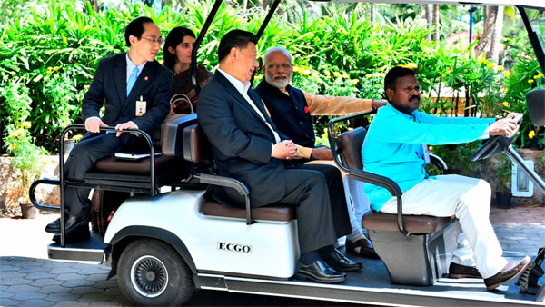 PM Modi with Xi Jinping