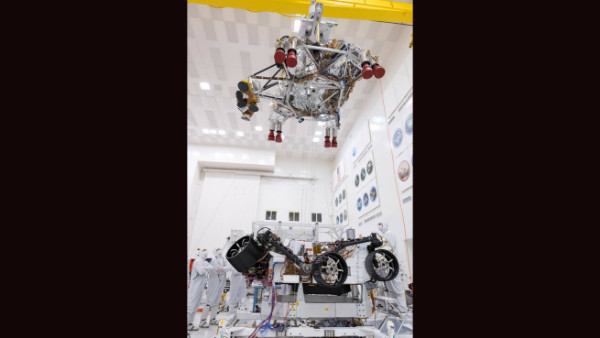NASA's Mars 2020 Rover Tests Descent-Stage Separation