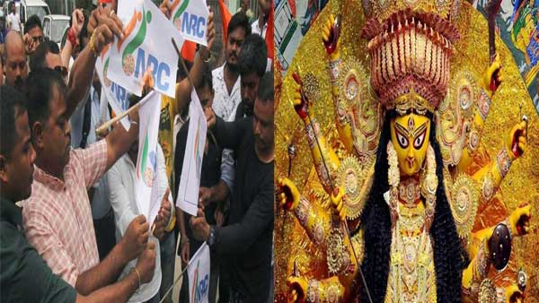 Kolkata Durga puja themed on refugees amid fear over NRC