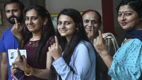 Haryana, Maharashtra record lowest voter turnout than in 2014