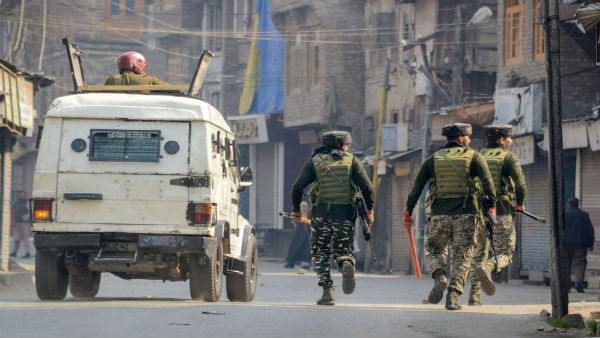 J&K: Two terrorists killed in gunbattle with security forces