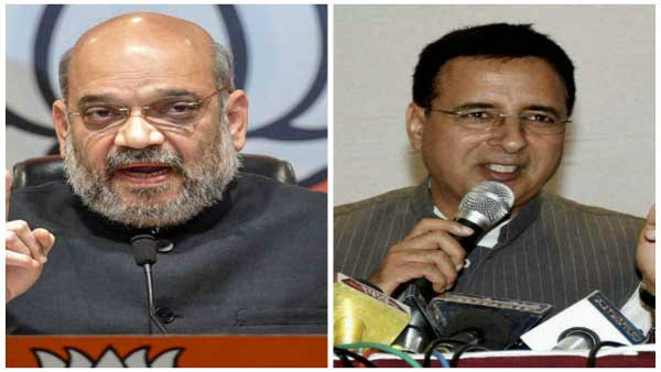 Why does Randeep Singh Surjewala get a stomach ache: Amit Shah explains
