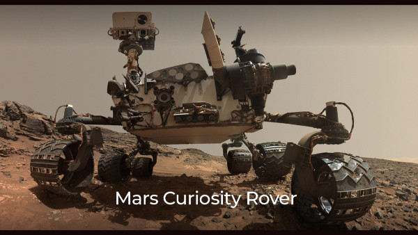 Basic design based on NASA rover Curiosity