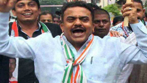 Congress leader Sanjay Nirupam
