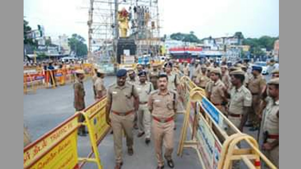Elaborate security arrangements in place for Thevar Jayanthi: