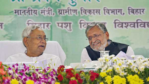 Nitish vs BJP: After war of words over Patna floods, Sushil Modi praises Bihar govt