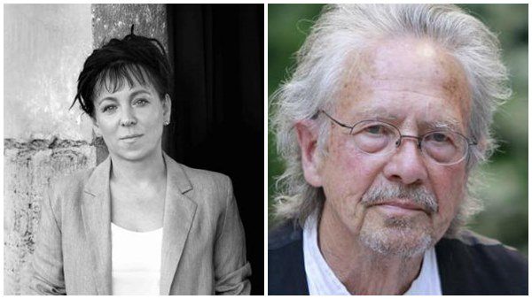 Olar Tokarczuk and Peter Handke