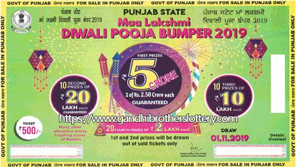 Punjab State Diwali Lottery 2019: Last day to buy ticket, details here