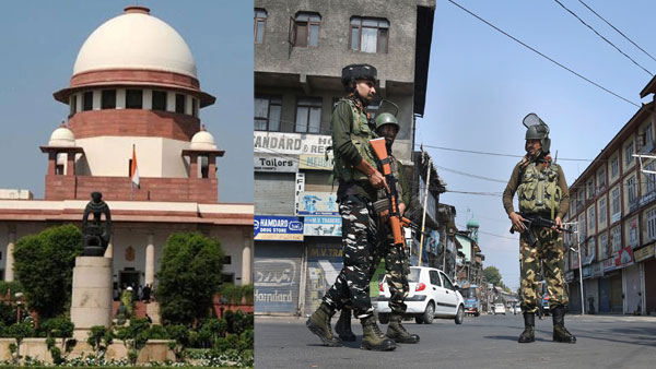 SC to heard pleas on Kashmir on Novmber 14, Centre told to file reply