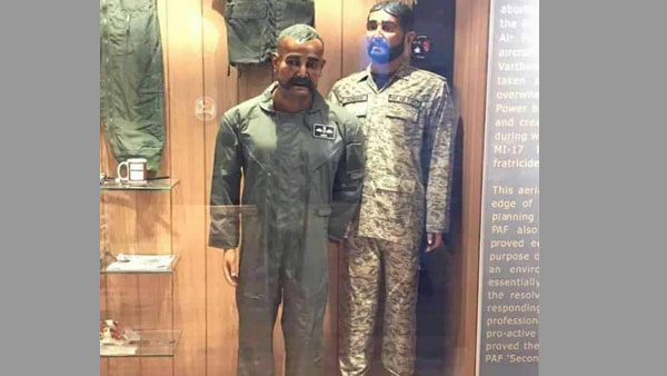 Pakistan Air Force puts Wing Commander Abhinandan's mannequin with tea cup