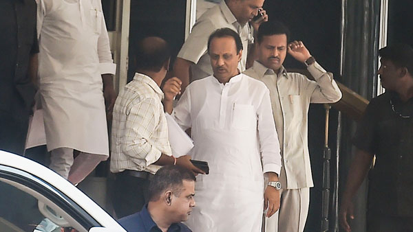 What led to the resignation of Ajit Pawar?