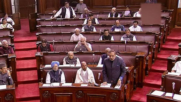 Congress raises the issue in Parliament