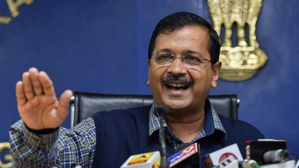 Sky is now clear, says Kejriwal