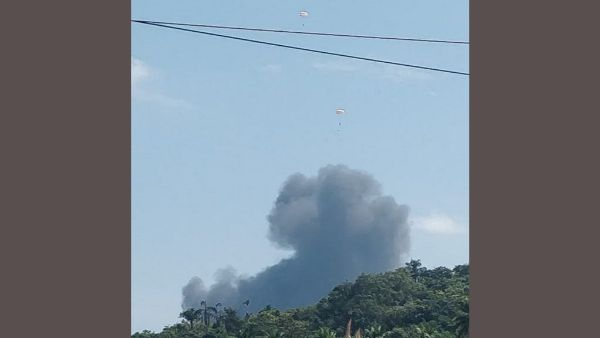 MiG29K trainer aircraft crashes in Goa; Both pilots eject safely