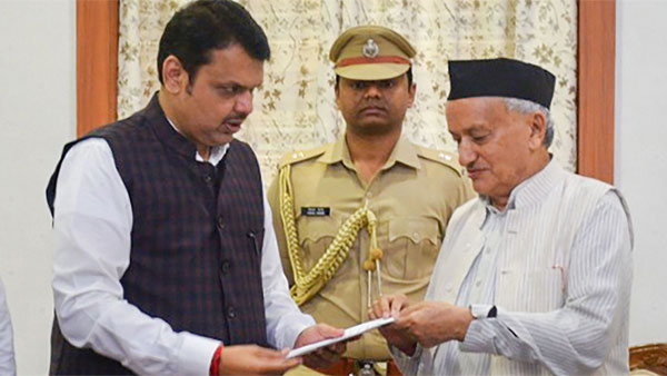 In 20 days, Devendra Fadnavis has resigned twice as Maharashtra Chief Minister