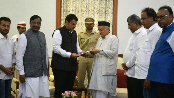 [Devendra Fadnavis resigns as Maharashtra CM, says never discussed 50:50 formula]