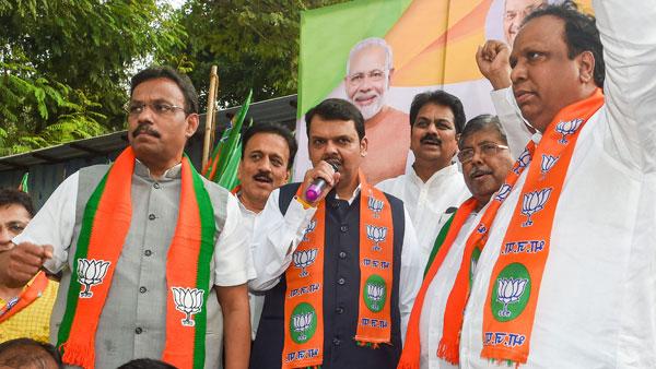 BJP's Maharashtra numbers: 105-15-30