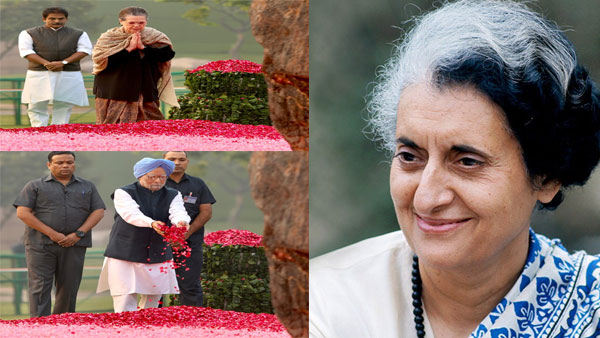 102nd birth anniversary of Indira Gandhi India pays tribute to the 'Iron Lady'