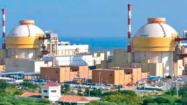 File photo of Kudankulam Power Plant