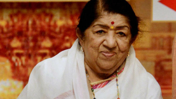 File photo of Lata Mangeshkar