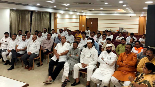 What if NCP boycotts the floor test in Maharashtra
