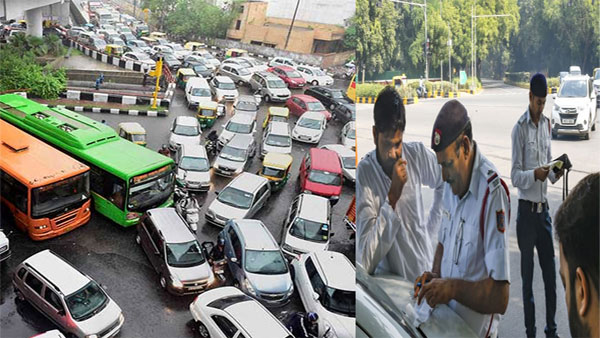 Odd-Even today: EVEN number plate vehicles allowed today; 562 fined on second day