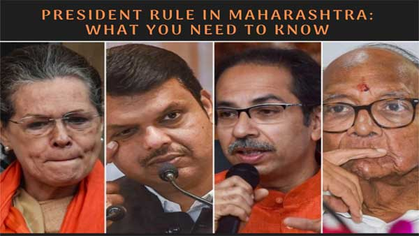 President rule in Maharashtra: What you need to know