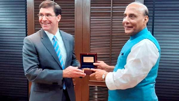 Rajnath Singh holds talks with US Def Secretary with focus on Indo-Pacific