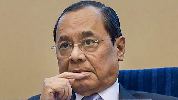 Outgoing CJI Gogoi rejects requests for interviews, lauds media