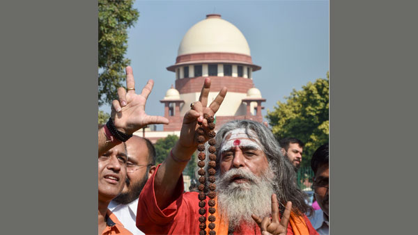 Ayodhya: Title not decided on basis of faith or belief, but on evidence says SC